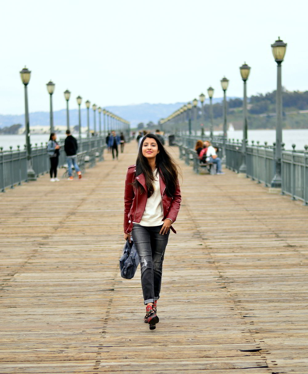 spring-layers-basics-san-francisco-floral-velvet-boots-blogger-outfit 5