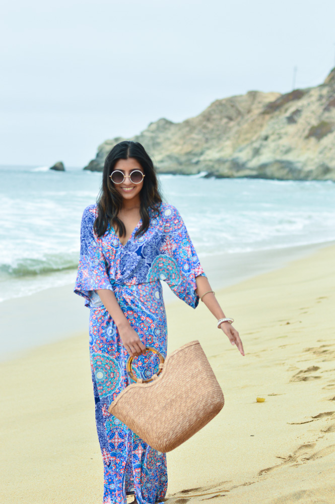 printed-kaftan-dress-beach-resort-vacation-fashion-california-bay-area 2