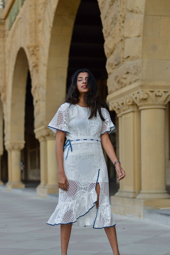 little-white-lace-midi-dress-velvet-mules-summer-style-blogger-outfit 5
