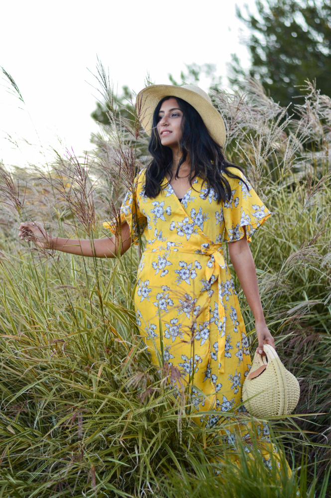 yellow-floral-maxi-dress-summer-fashion-blogger-outfit 2