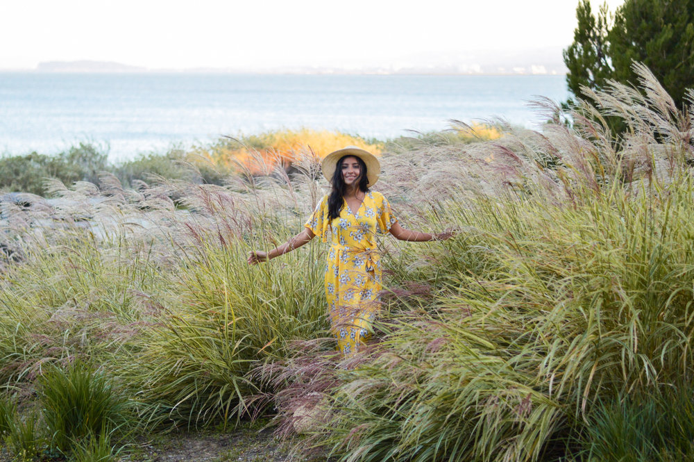 yellow-floral-maxi-dress-summer-style-blogger-outfit-sunset 6