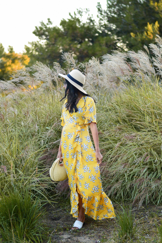 yellow-floral-maxi-dress-summer-style-blogger-outfit 8