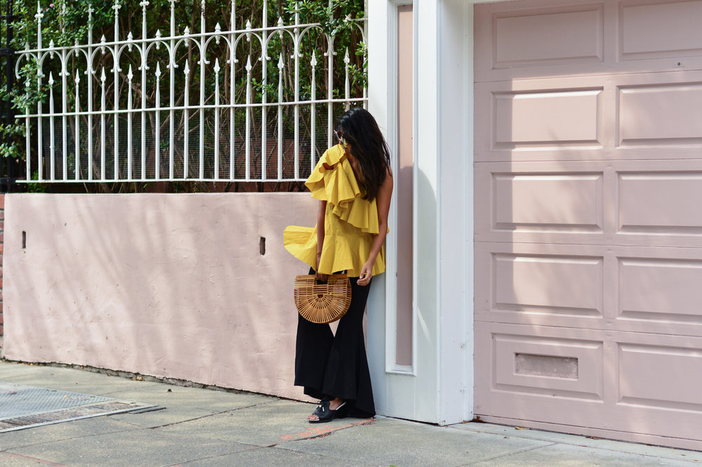 DSC_0662.jpgruffles-mustard-yellow-fall-style-cold-shoulder-top-blogger-outfit 9