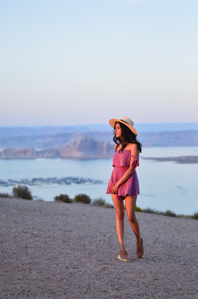 pink-crop-top-shorts-set-bryce-canyon-utah 23