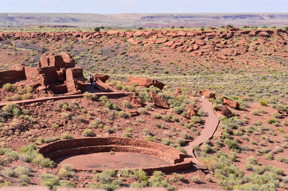 travel-blogger-arizona-long-weekend-itinerary-wupatki-national-monument 4