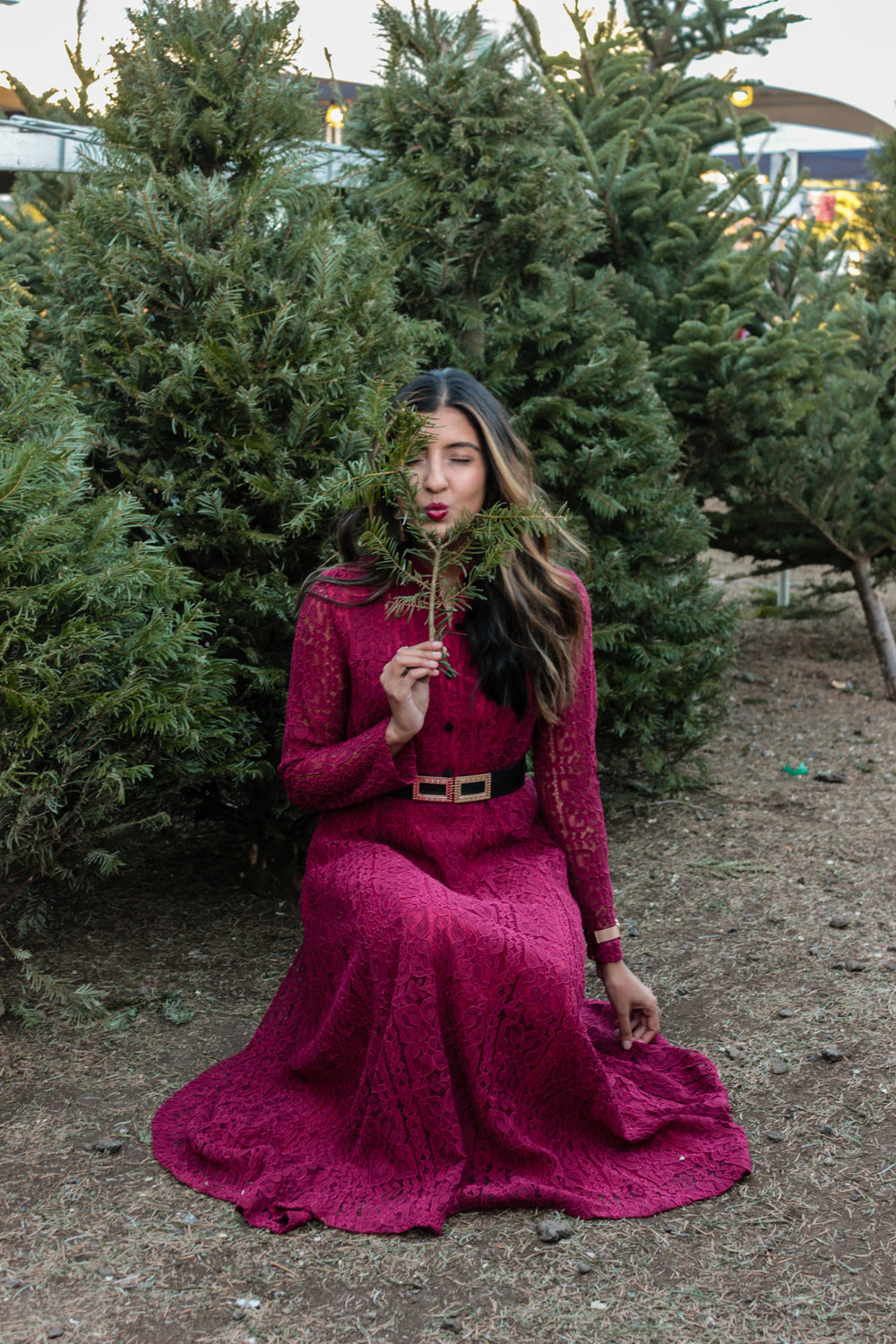 christmas-tree-farm-maxi-dress-holiday-party-style 6