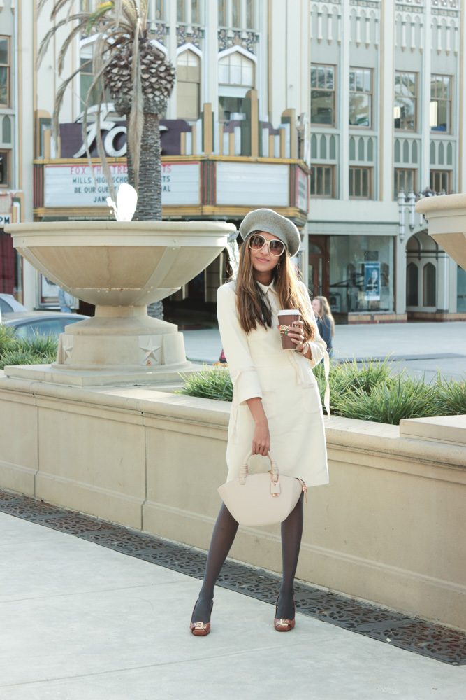 winter-white-parisian-chic-beret-blogger 1