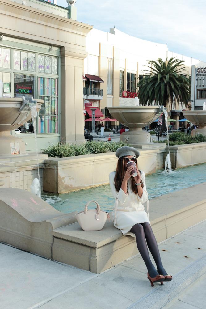 winter-white-dress-retro-coffee-date-blogger 3