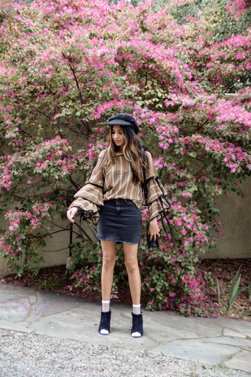 stripes-statement-sleeves-spring-neutrals-blogger 3