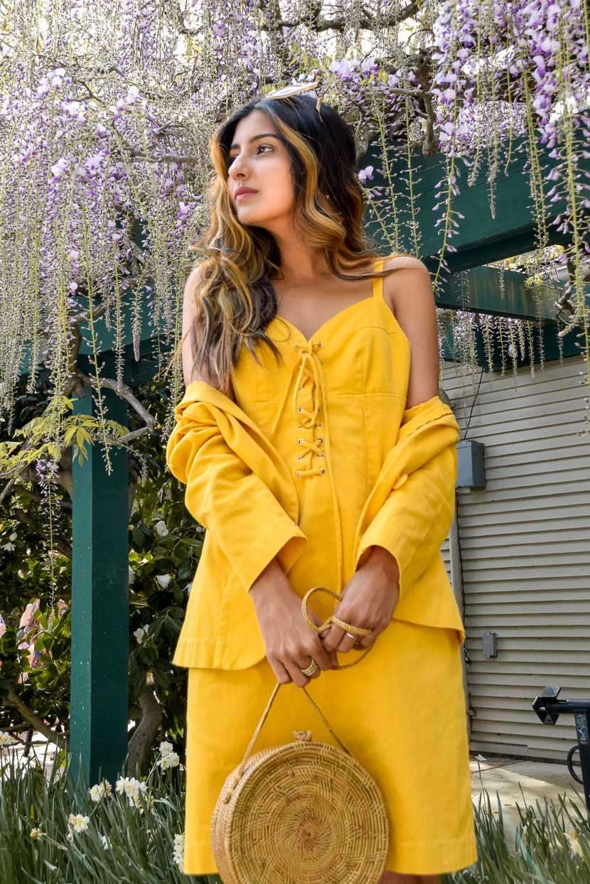 yellow-spring-style-denim-dress 7