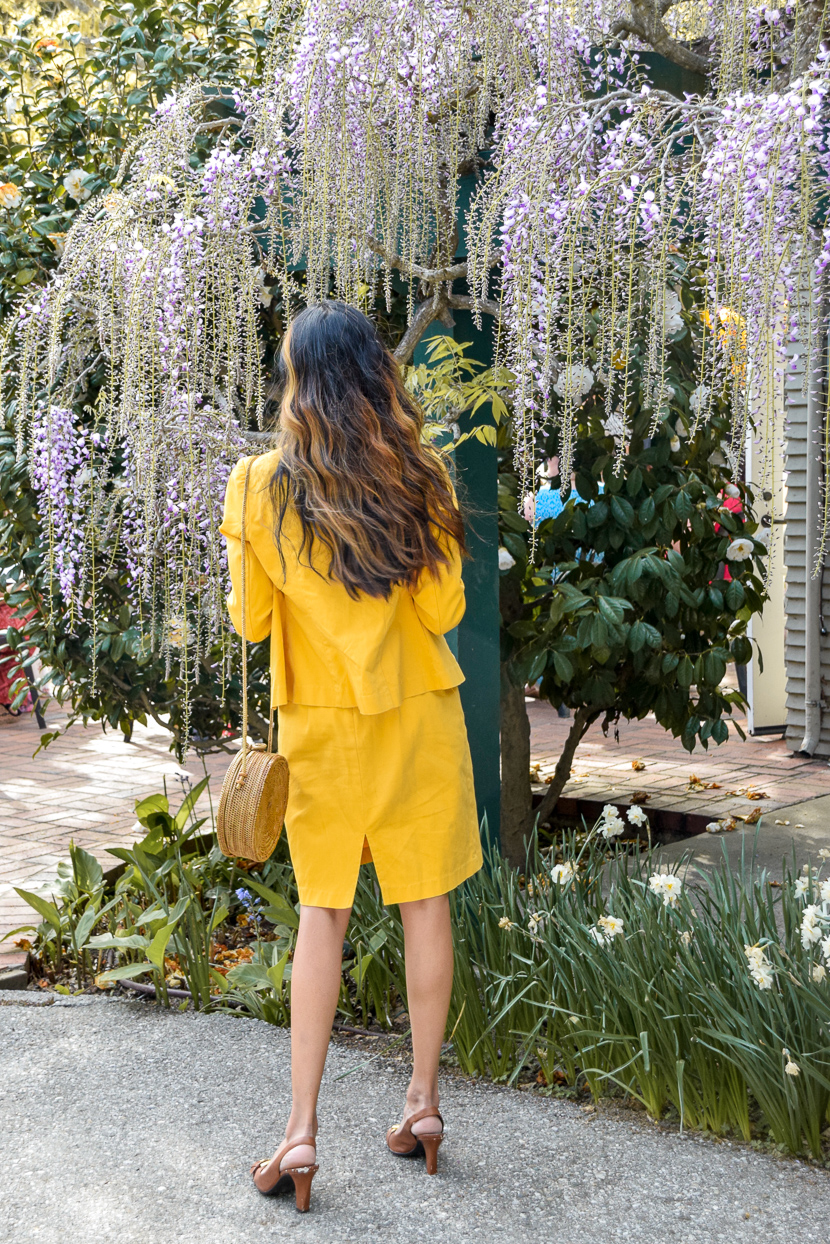 yellow-spring-denim-dress-blogger 8