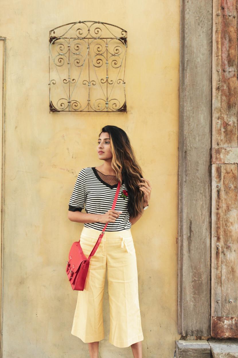 stripes-yellow-summer-fashion-blogger 2