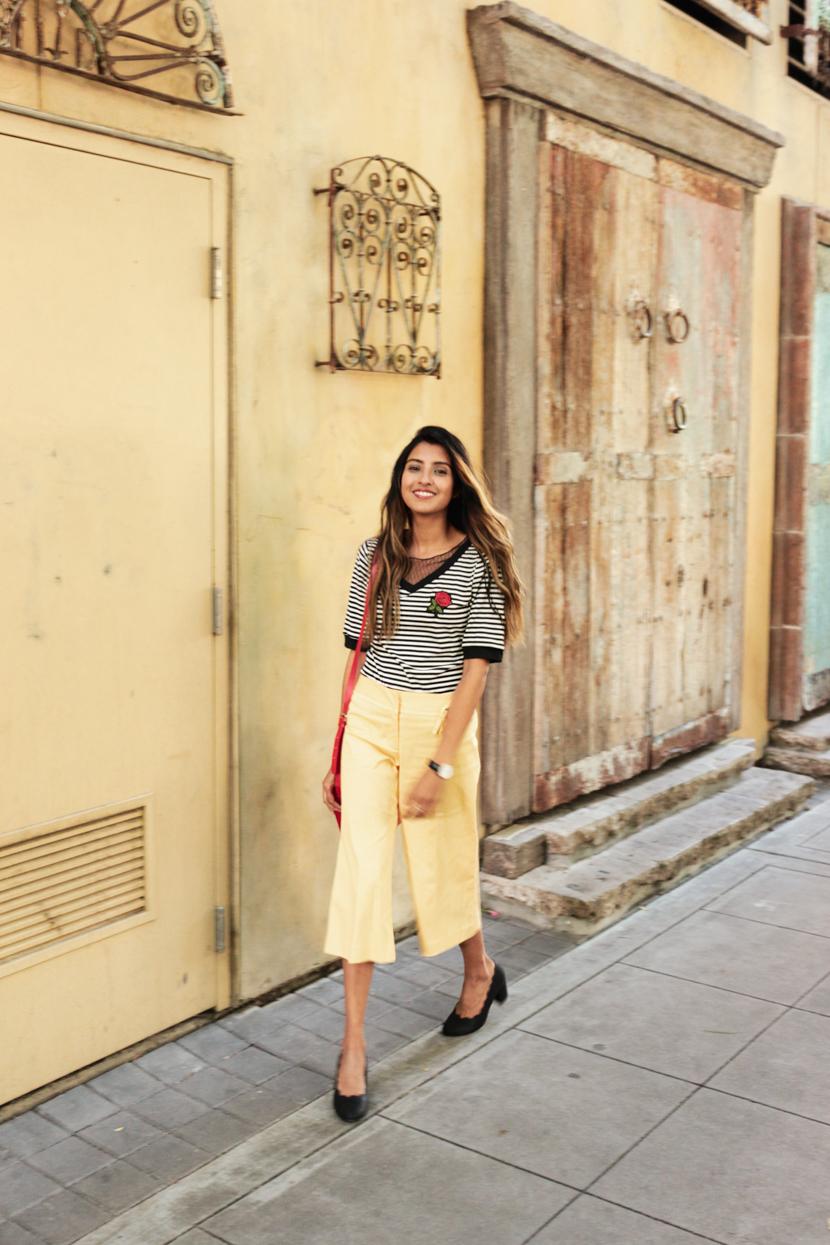 stripes-wide-legged-pants-summer-fashion 3