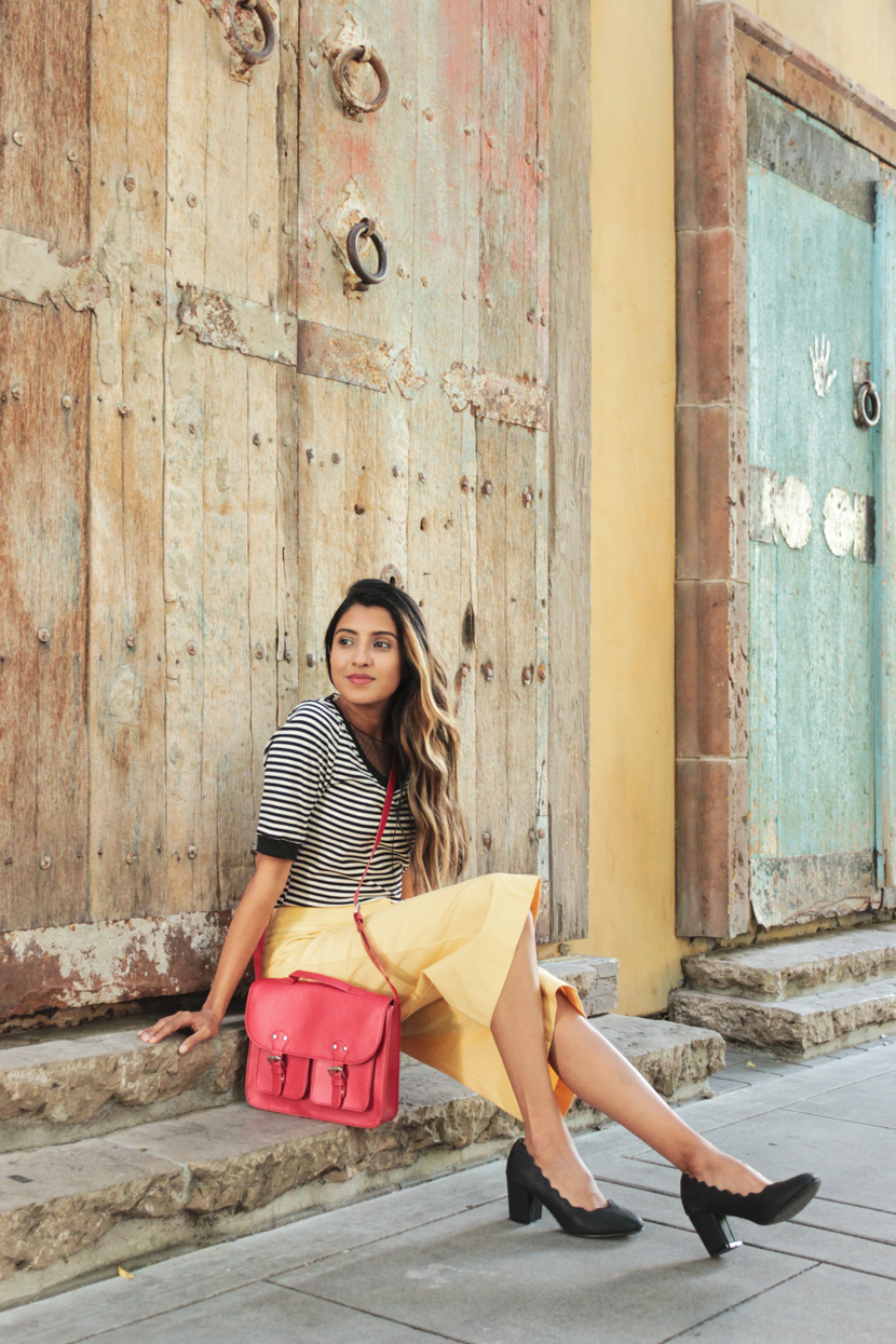 stripes-yellow-summer-style-outfit 6