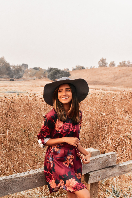 blogger-shirtdress-fall-florals-fashion 3