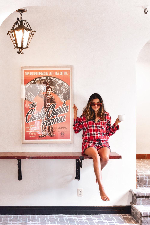 montecito-inn-plaid-pajamas-blogger 3