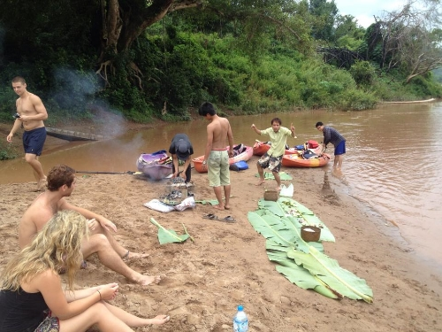 A WORLD CLASS FEAST: MEKONG RIVER, LUANG PRABANG, LAOS
