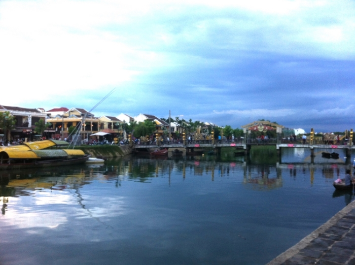 CANAL: DOWNTOWN HOI AN, VIETNAM