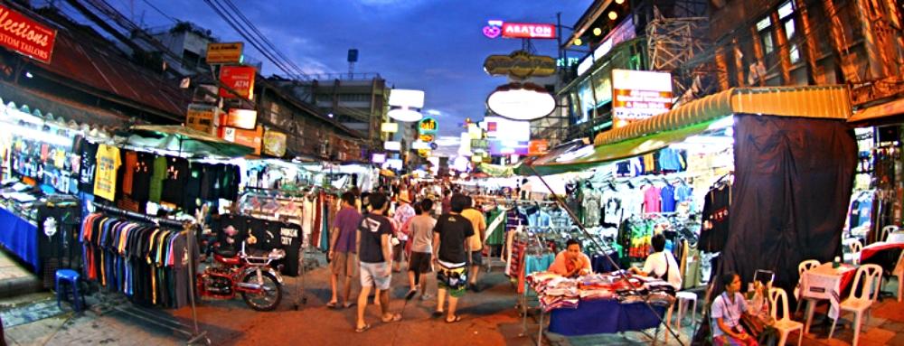 KHAO SAN ROAD: BANGKOK, THAILAND