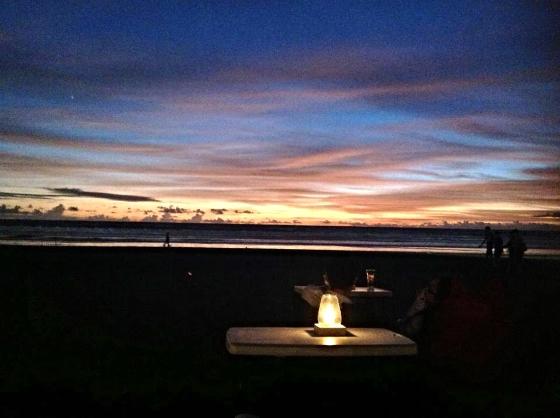 BEACH SUNSET: BALI, INDONESIA