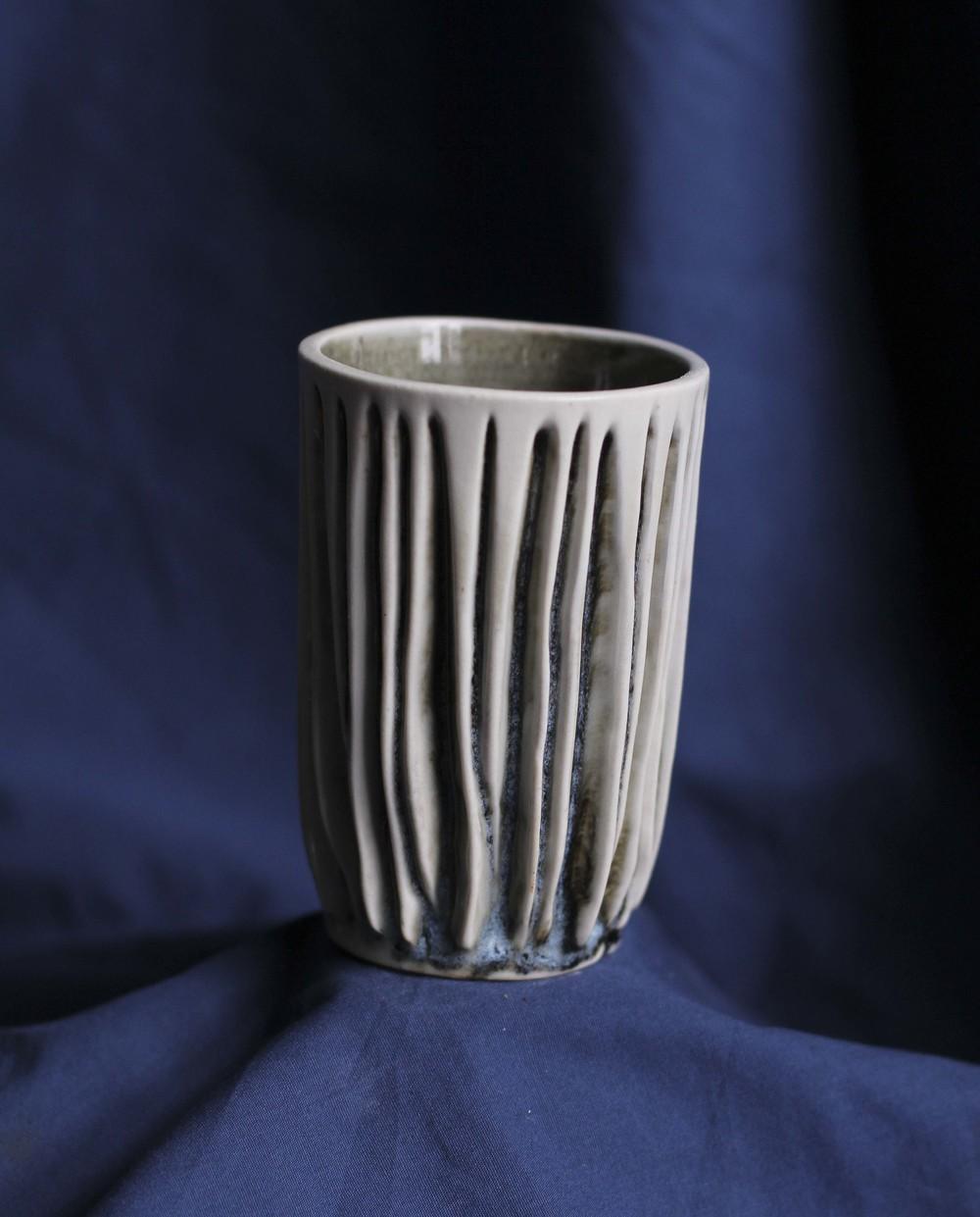 4.5x3, 2014, White Stoneware