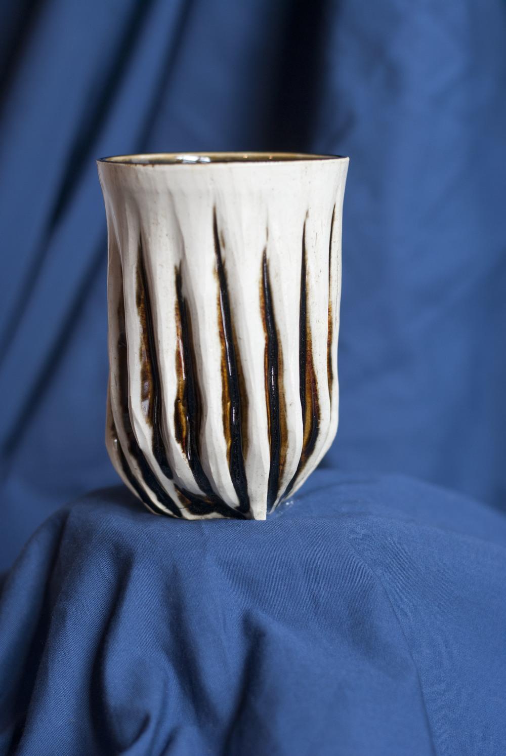 4.5x3.5, 2014, White Stoneware
