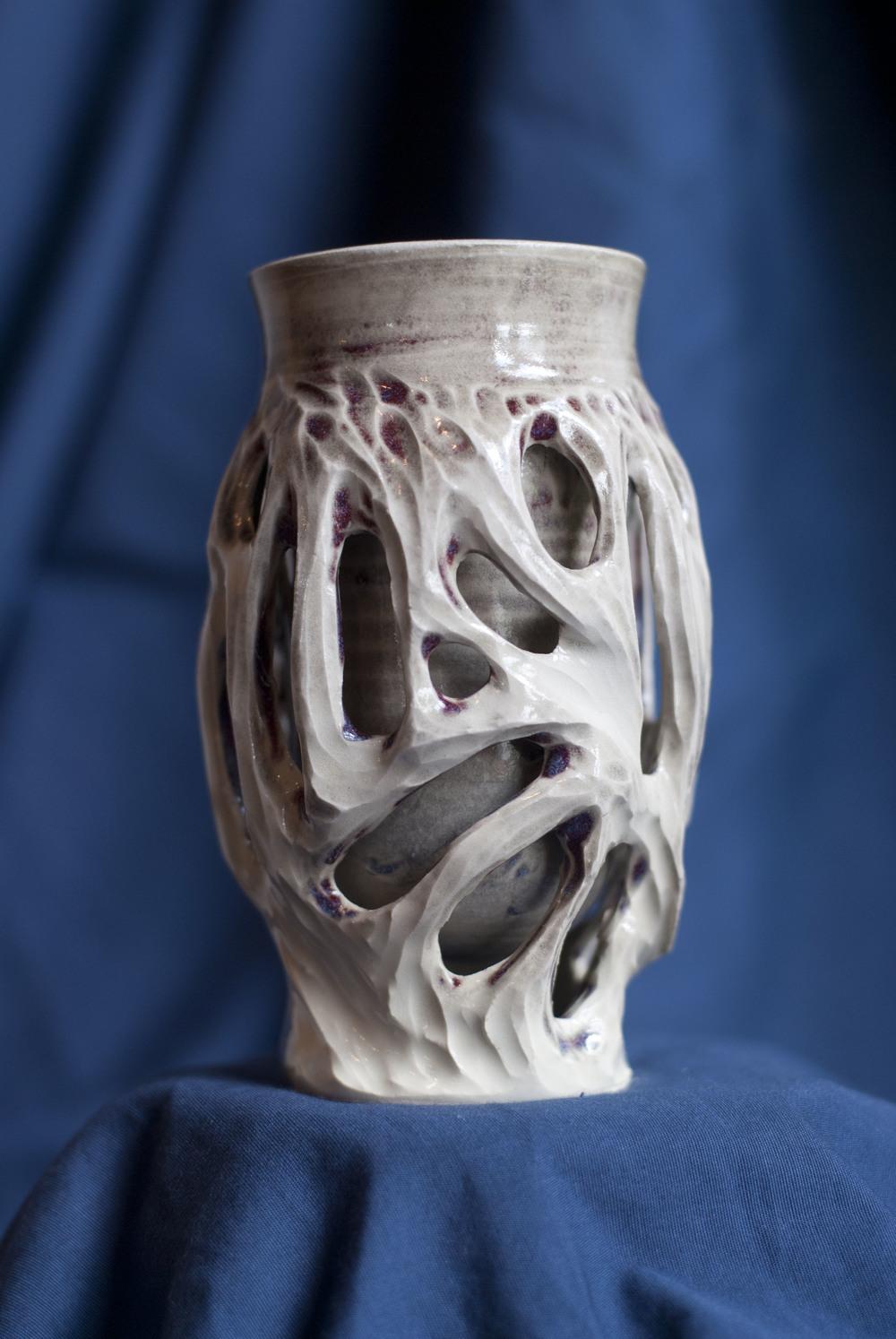 5x2.5, 2014, White Stoneware