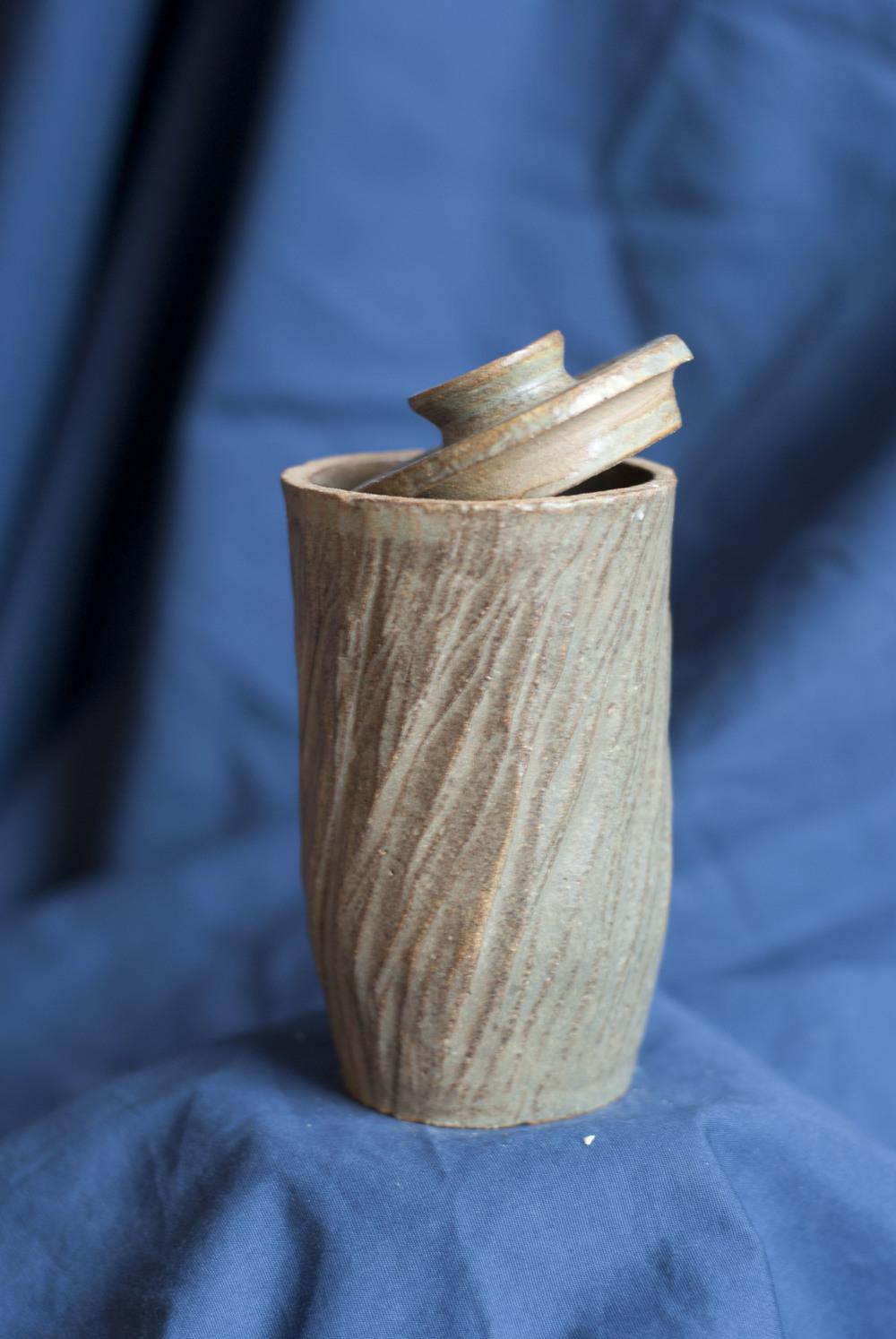 4.5x2.5, 2014, Stoneware