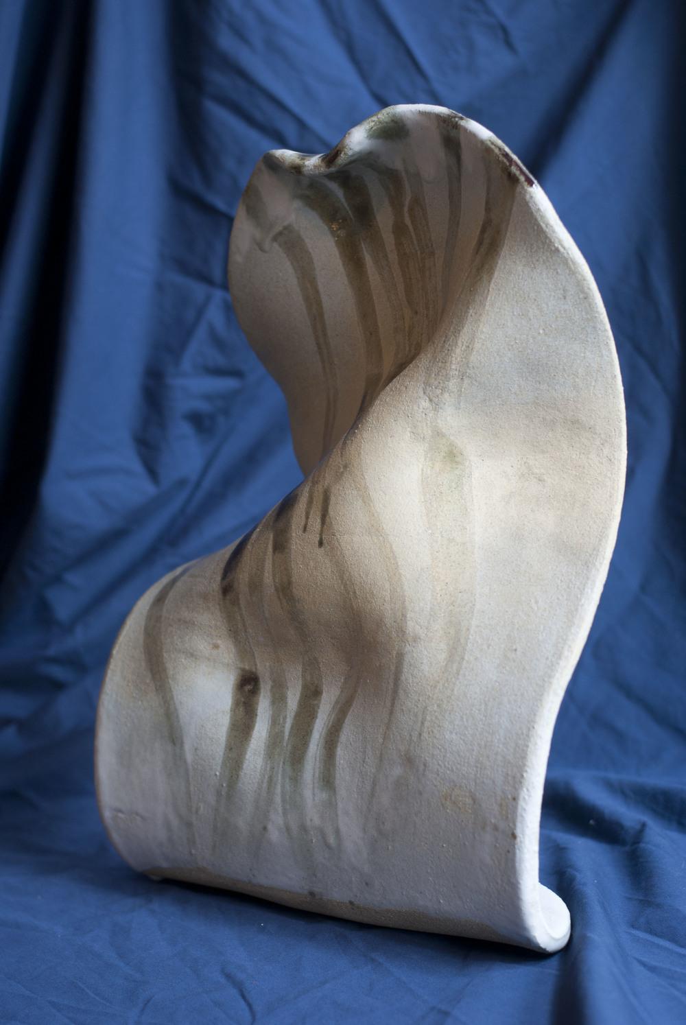 9x4x16, 2014, Stoneware