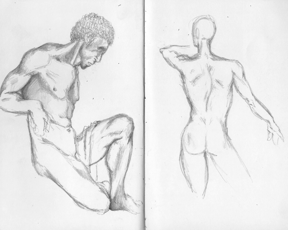 Scultpture Studies, The Louvre.jpg