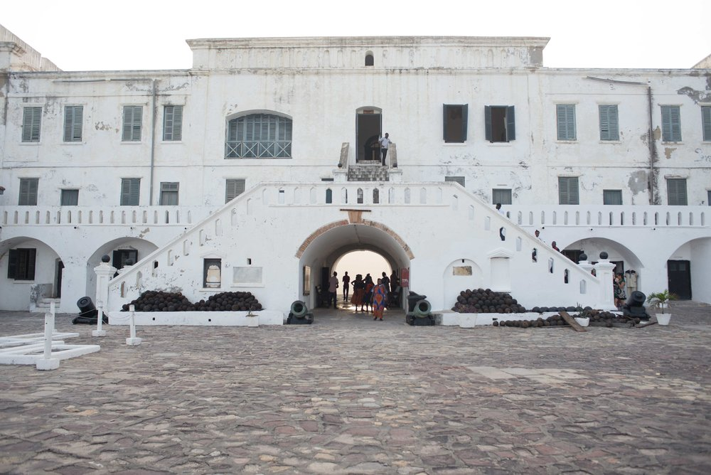 The fort at Cape Coast