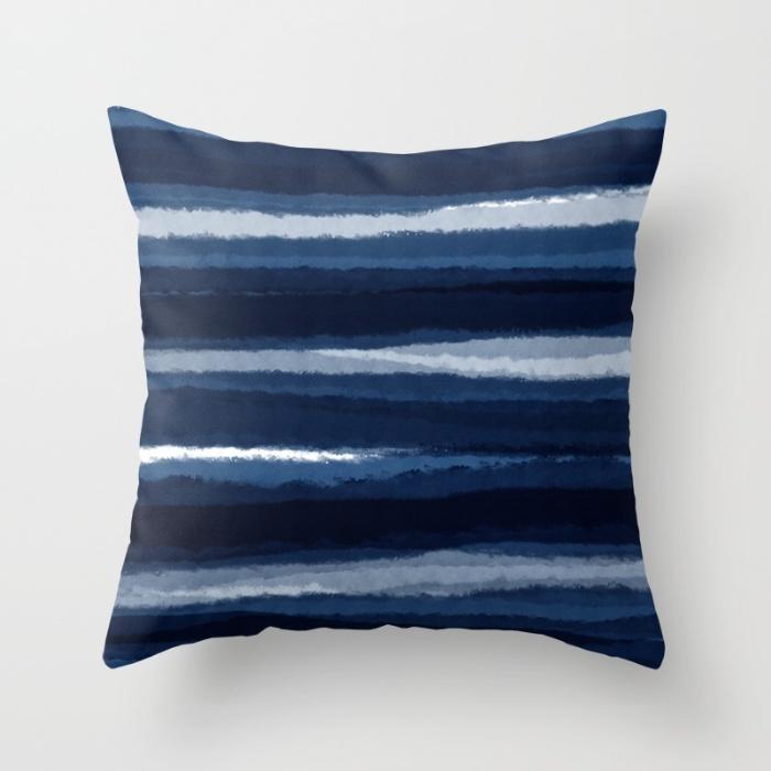 INDIGO Throw Pillow on Society6.com