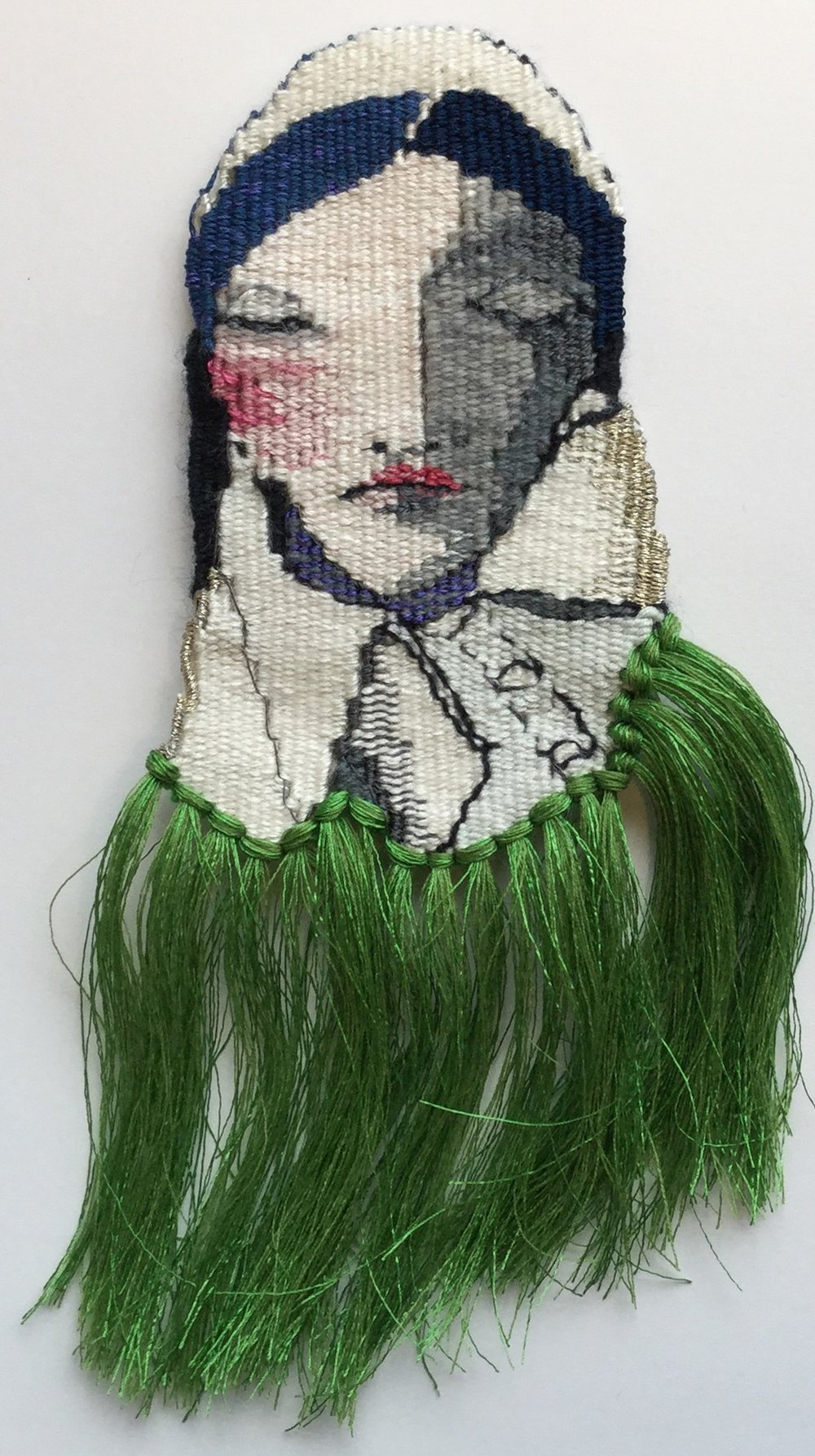 Betrothal Portrait 3  2017  29 x 8cm