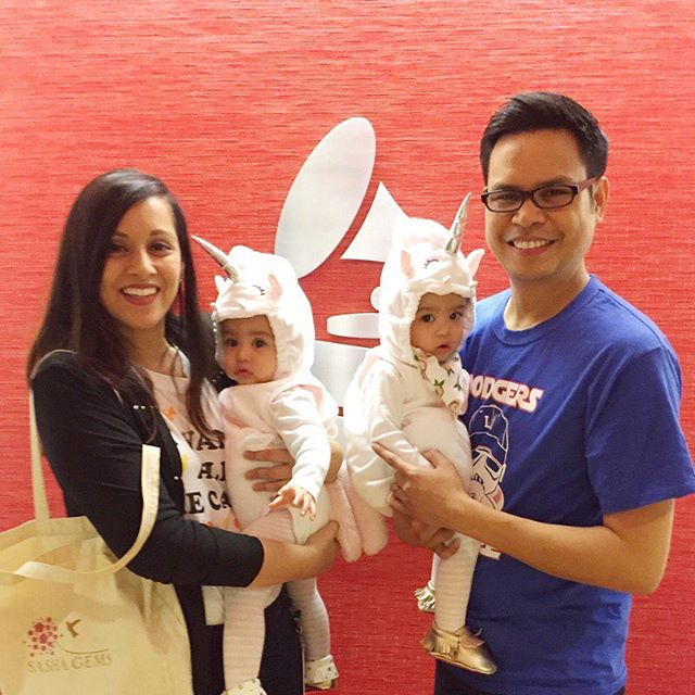 My baby unicorns' first Halloween! 🦄 🦄