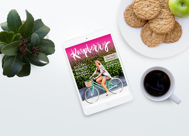 Raspberry Magazine available now