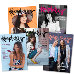 Raspberry Magazine for women in online business.png