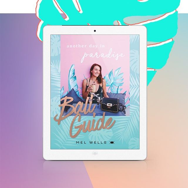 "I loved designing the Bali Guide by @iammelwells! After living in Bali, Mel had so much knowledge of the best places to stay, eat and play, and shares it all in the guide.  Check out my Instagram highlights 'eBook design"" to peek inside, and make sure to give @iammelwells a follow (she's amazing)!"