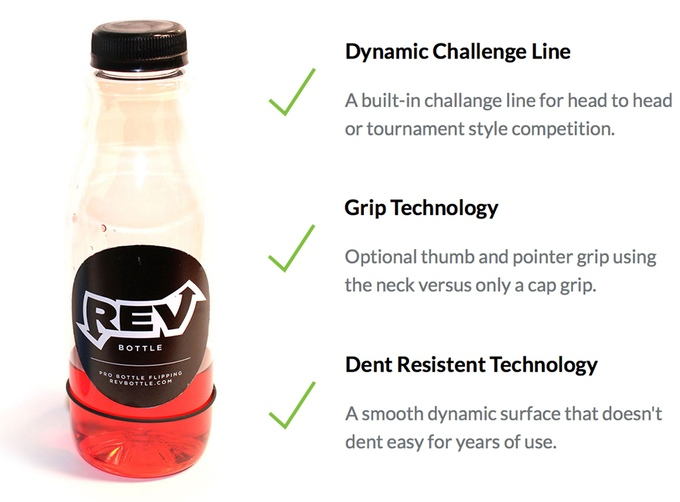 RevBottle: Pro Bottle Flipping - Kickstarter of The Week