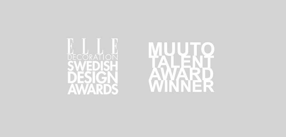 Awards - ELLE Decoration Lamp of the YearMuuto Talent Award