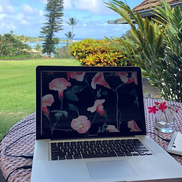 office for the week 👌🏼😍🌺