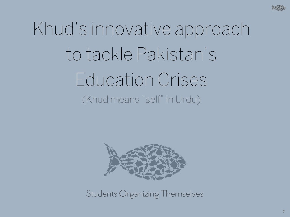 "Khud's innovative approach to tackle Pakistan's Education Crises (Khud means ""self"" in Urdu) - Khud EdTech Pakistan"