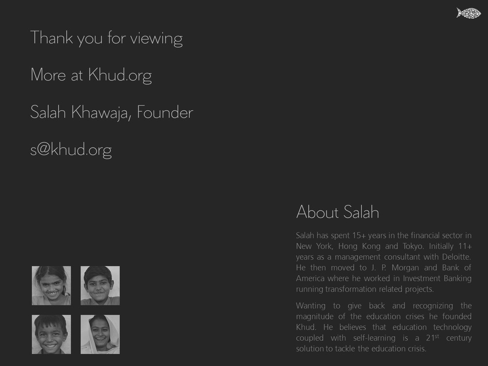 Khud Founder - Salahuddin Khawaja - Khud EdTech Pakistan