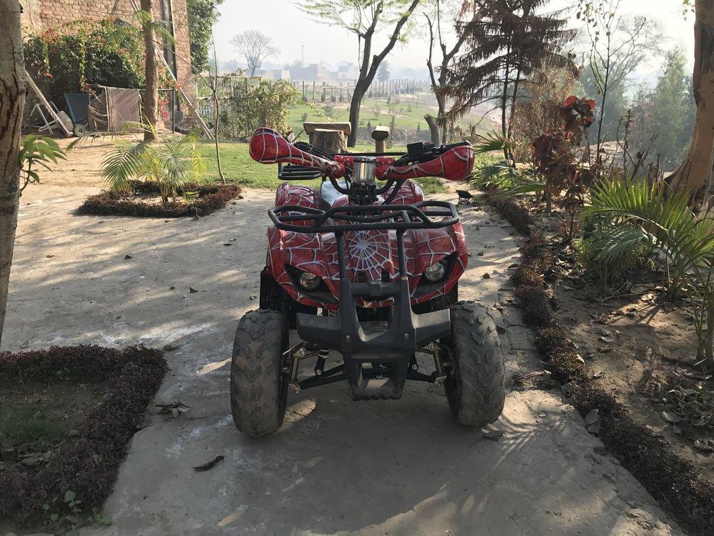 Khud EdTech Lahore Pakistan - Farm - ATV.JPG