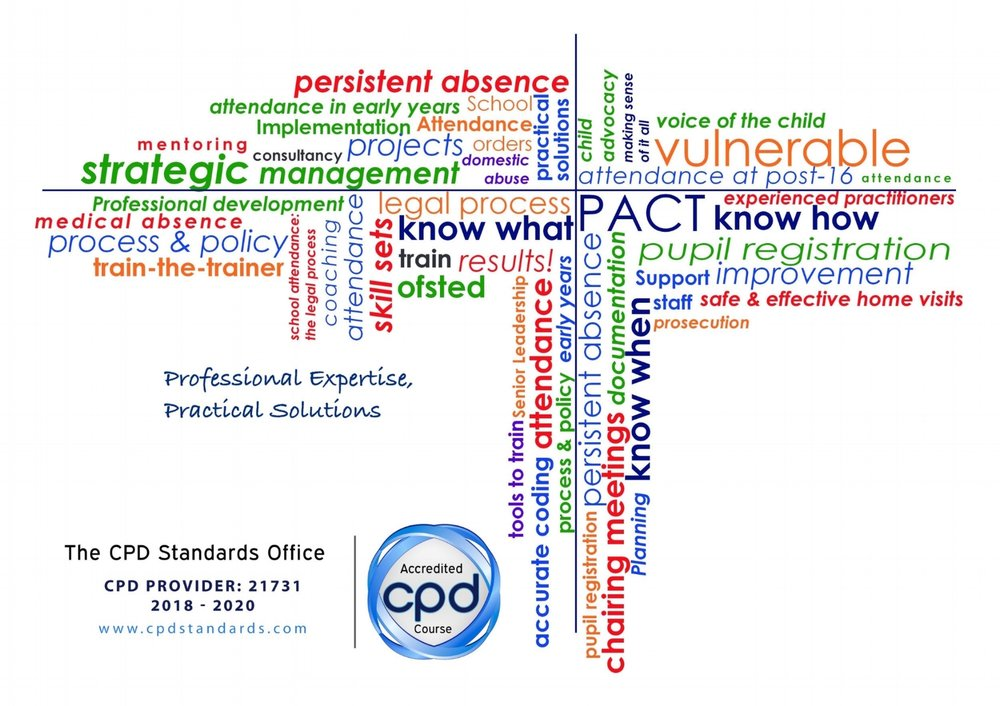 PACT is an accredited provider with the                                      Continuing Professional Development Standards Office