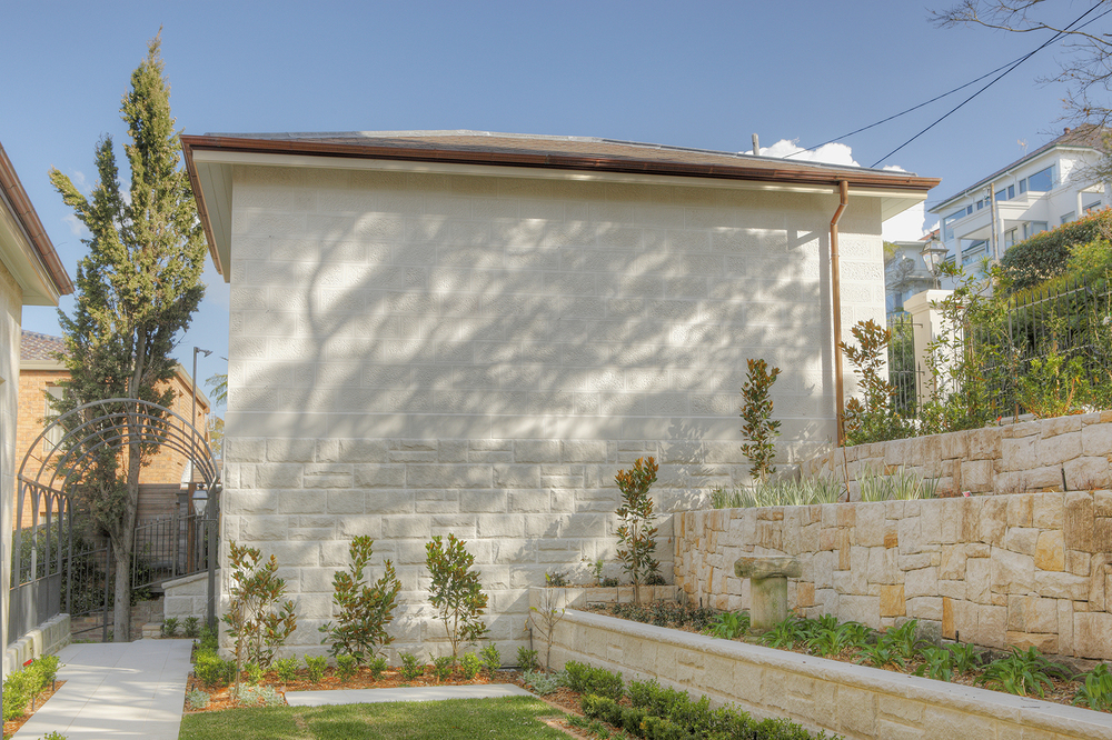 Residential Wall cladding and Retaining wall