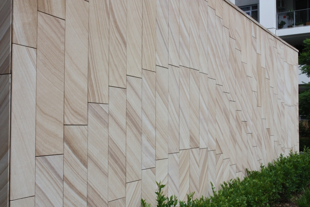 Light Brown Diamond Sawn Cladding