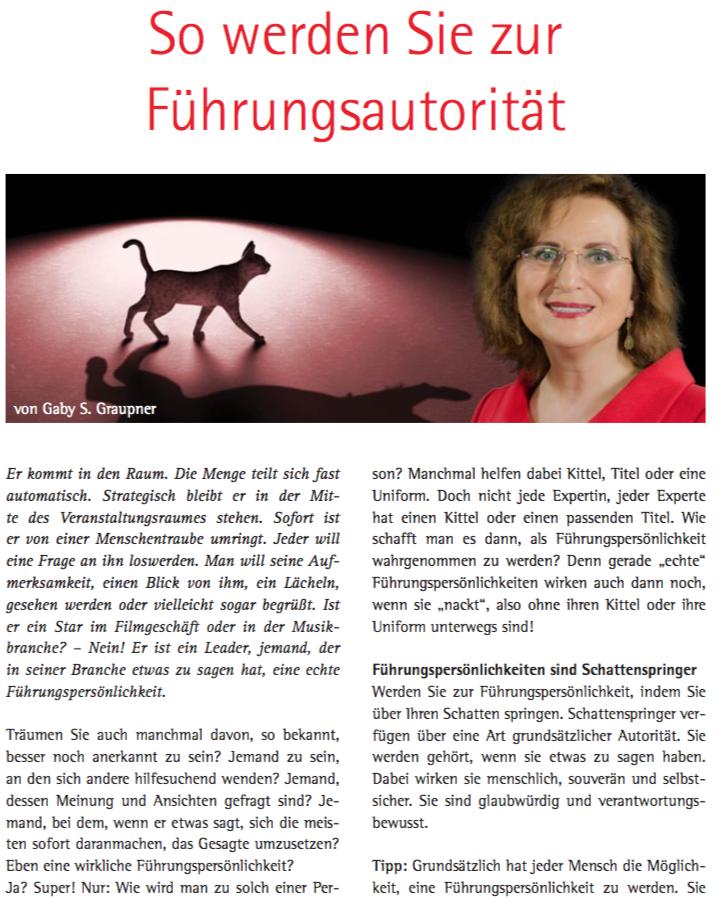 Das Magazin für Business & Bildung - Ausgabe 41 2015