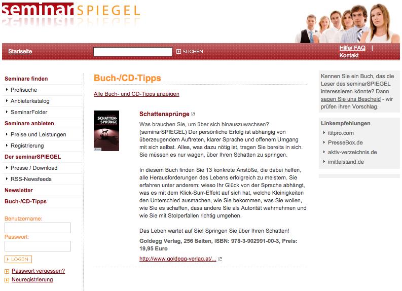 www.seminarspiegel.de