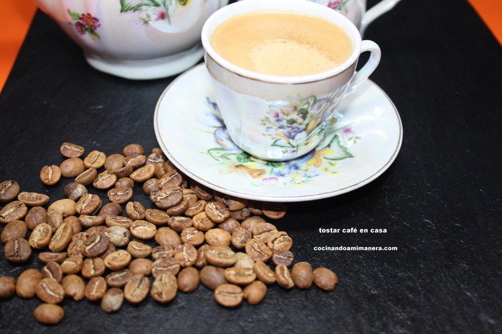 Tostar café en casa — Luisa CCorrecher | Cocinando a mi manera