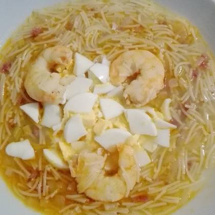 sopa de langostinos y jamón de Amparo.jpg